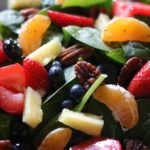 Strawberry Spinach Salad with Poppy Salad dressing!